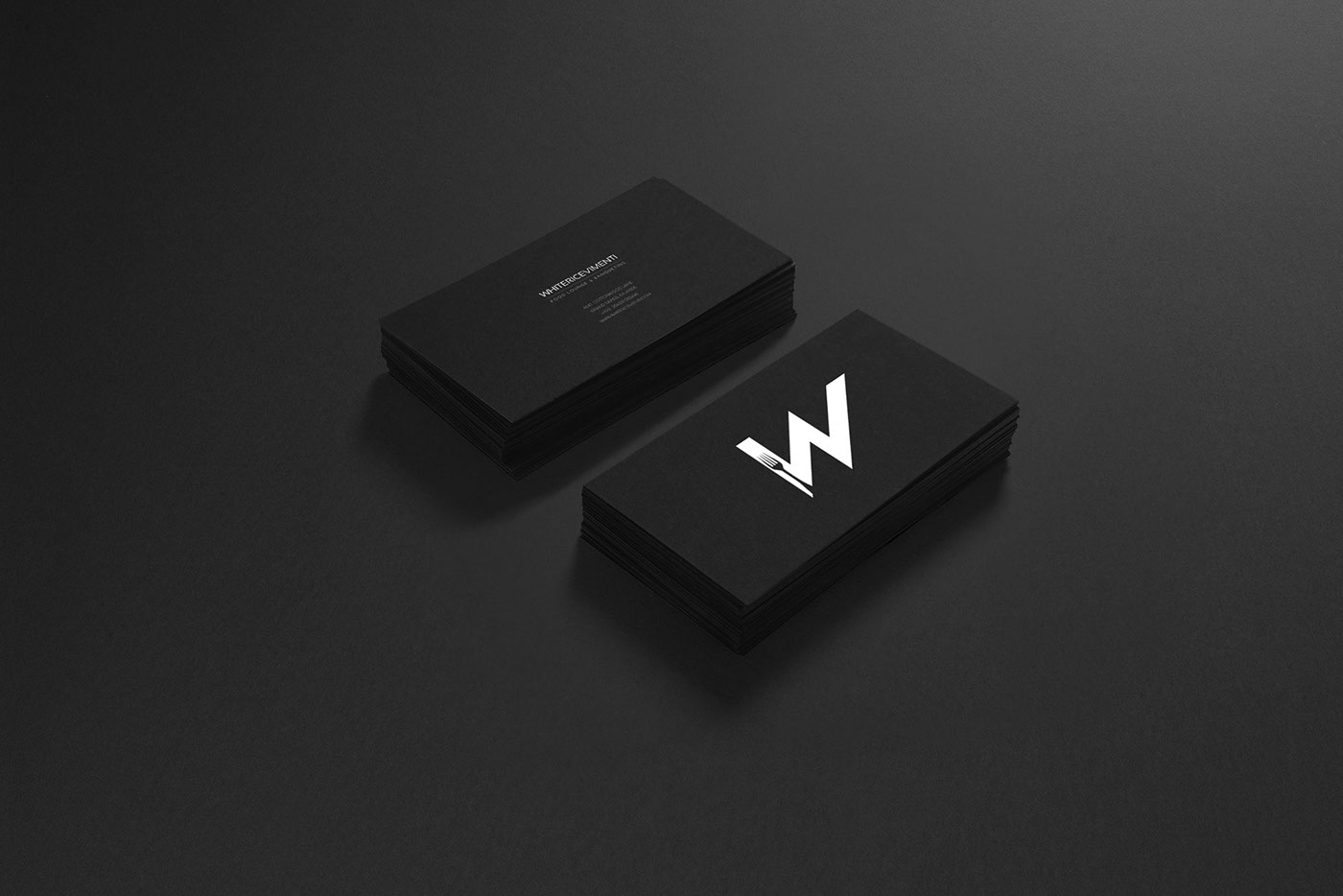 print stationary business card Layout Mockup design