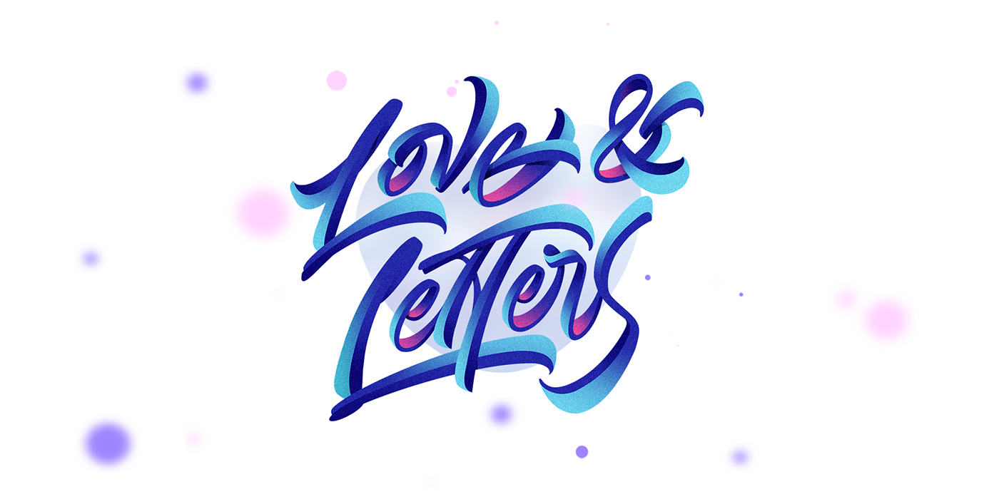 lettering color letters Calligraphy   typography   design HAND LETTERING