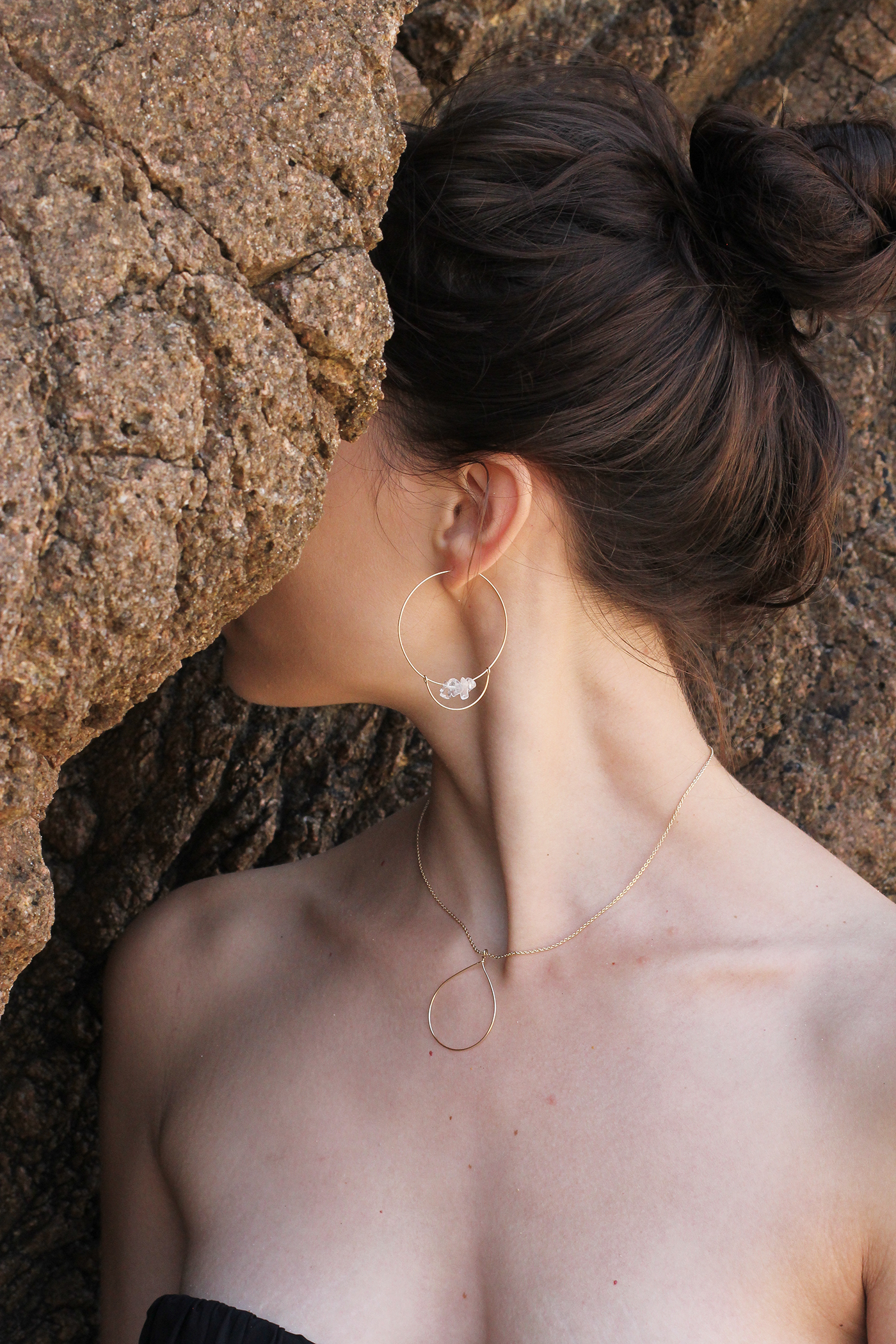 Portugal milamarin Jewellery Lisbon Necklace Photography  beach stones