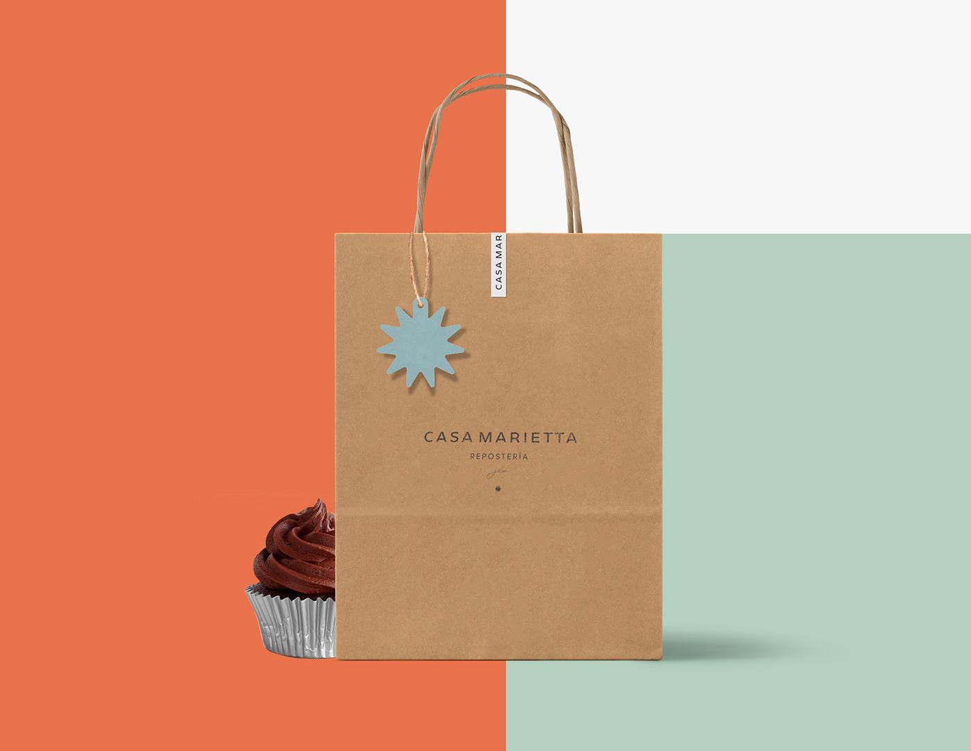 identidad reposteria pasteles cafeteria branding  cakeshop desserts cake