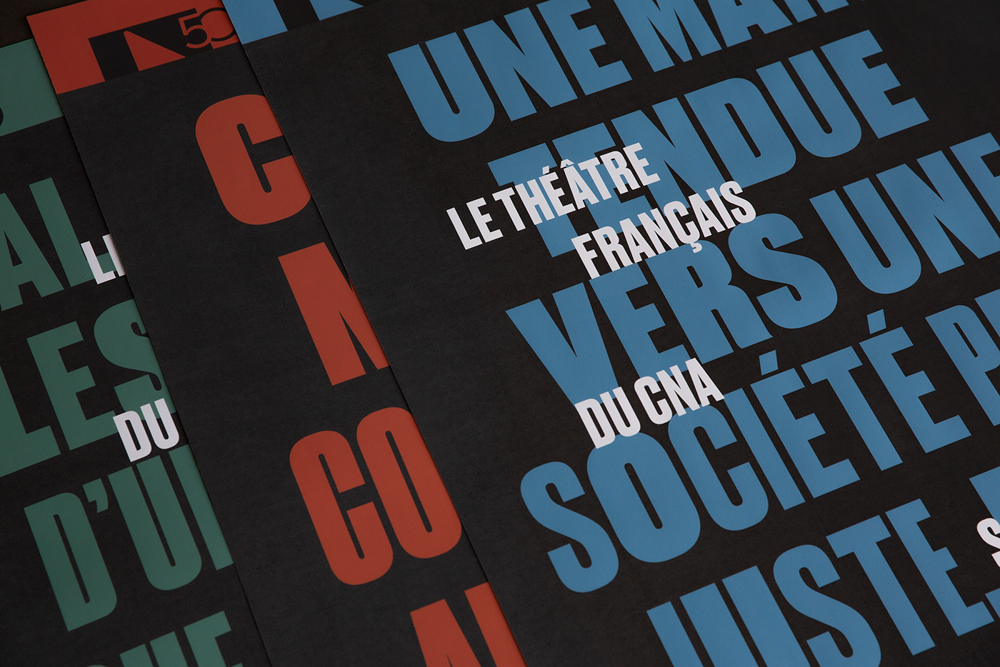 Theatre cultural identity French typography   political campaign culture Canada posters brochure