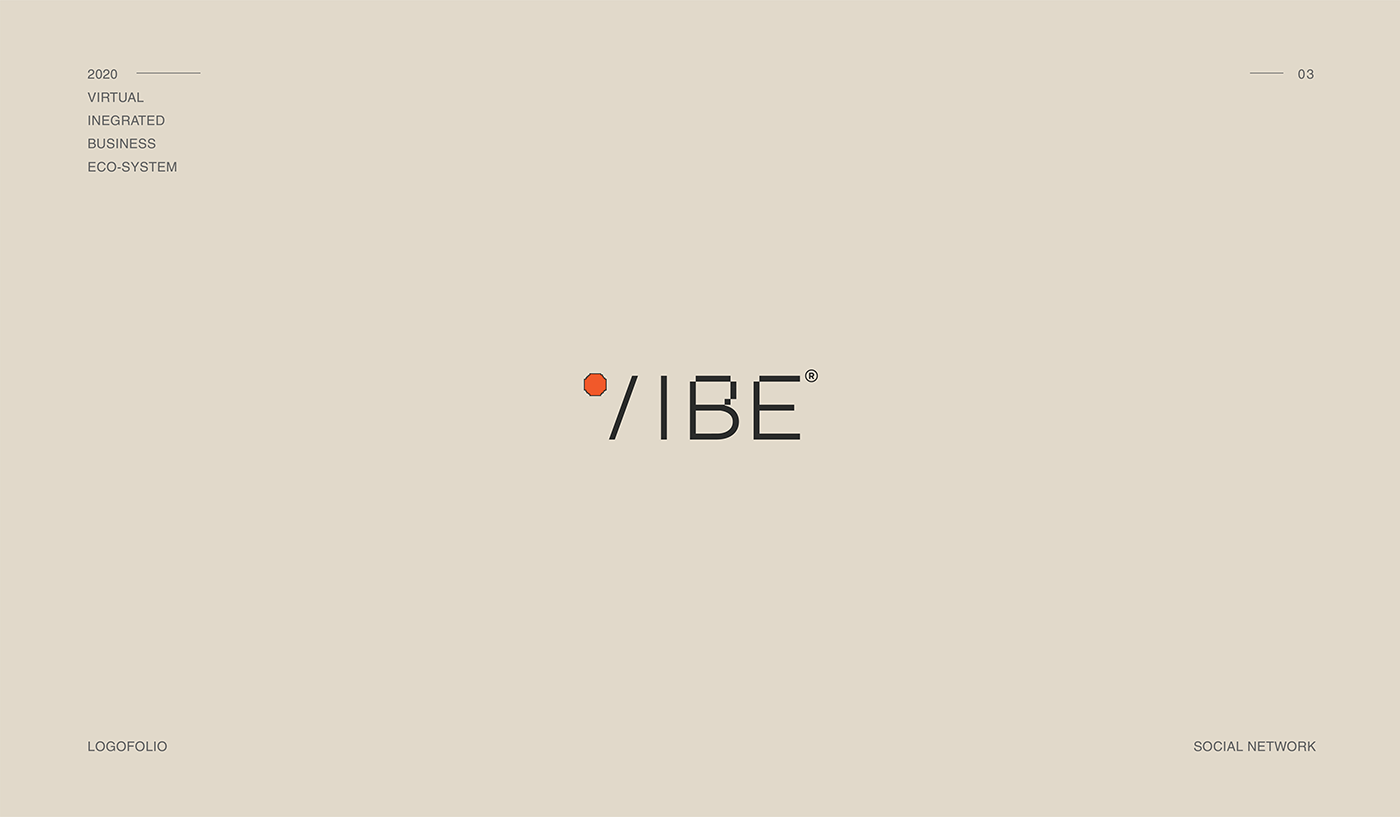 Vibe logo, Social network