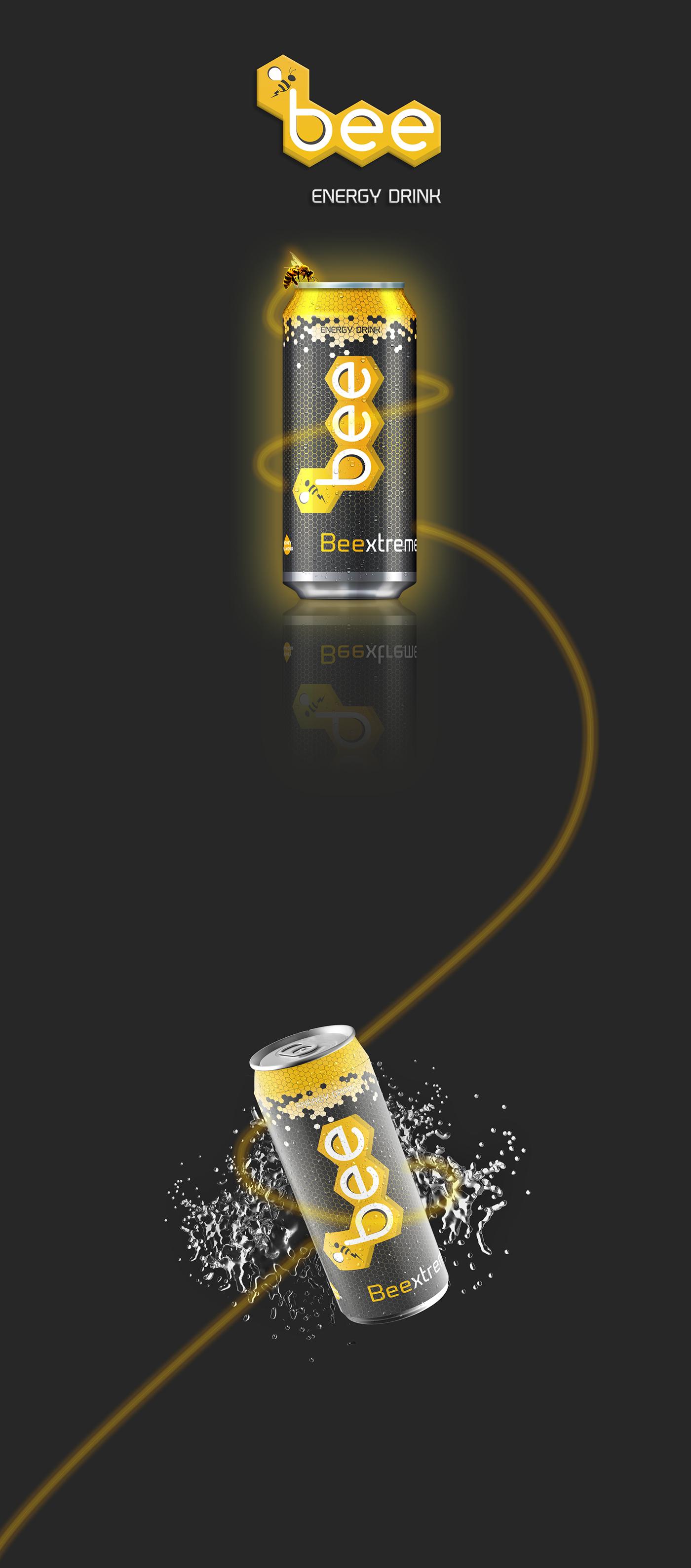 Bee Energy Drink on Behance