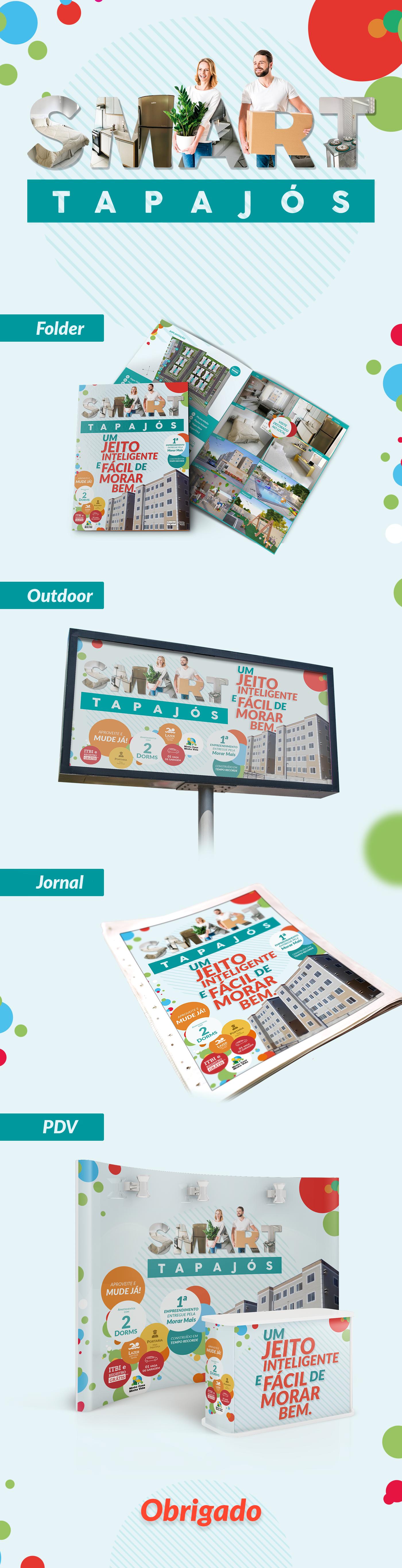 Smart MorarMais Smart Tapajós LBz.agency campaign Advertising  campanha