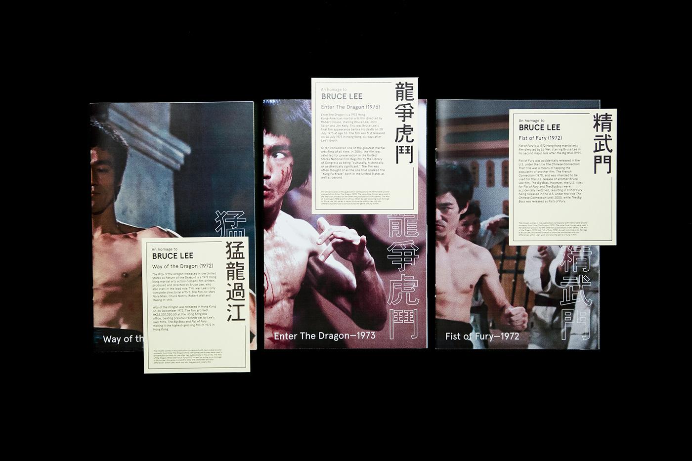 bruce lee Film   Enter the dragon publication Plastic Sleeve