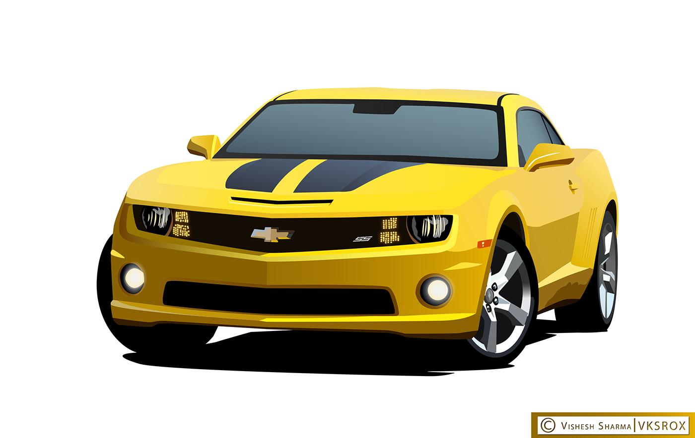 vector art Car Illustration