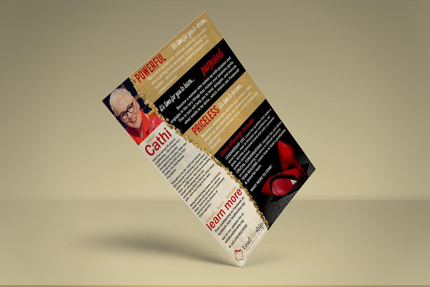 flyers branding  advertisements