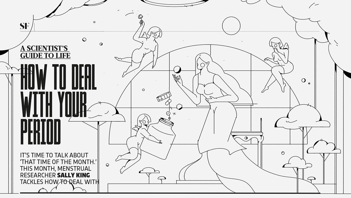 artwork colors DIGITALDRAWING Fairies ILLUSTRATION  magazine