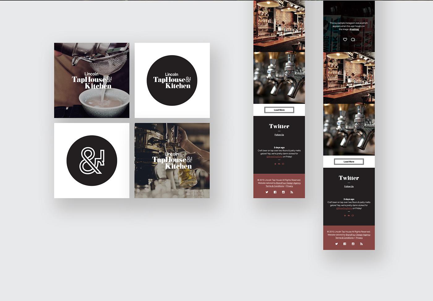 restaurant social media Clothing brand G.F Smith nomad lincoln