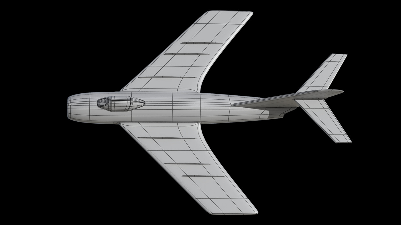 3D 3d modeling Aircraft airplane Fighter Jet plane Render