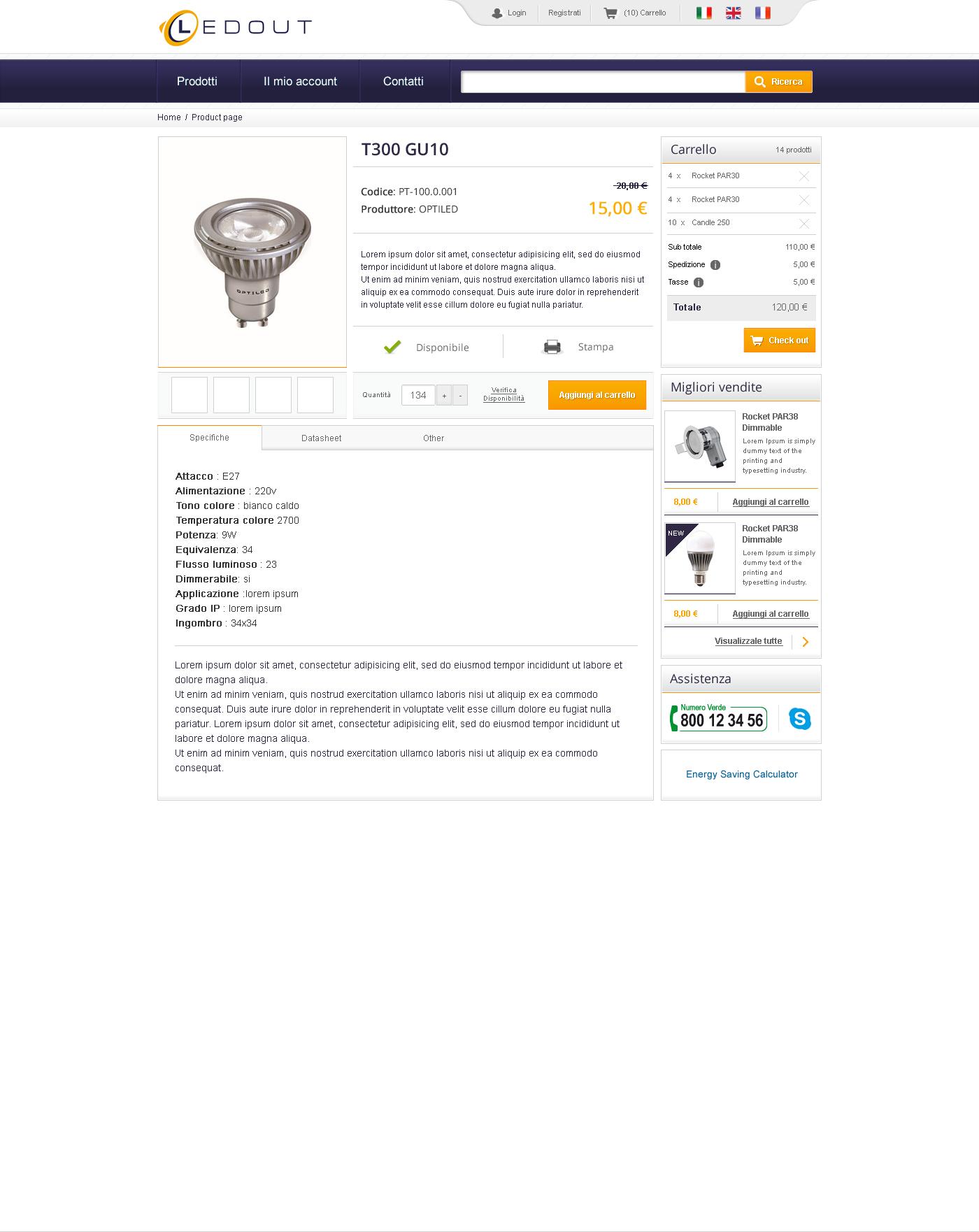 e-commerce Symfony Prestashop front-end Webdesign