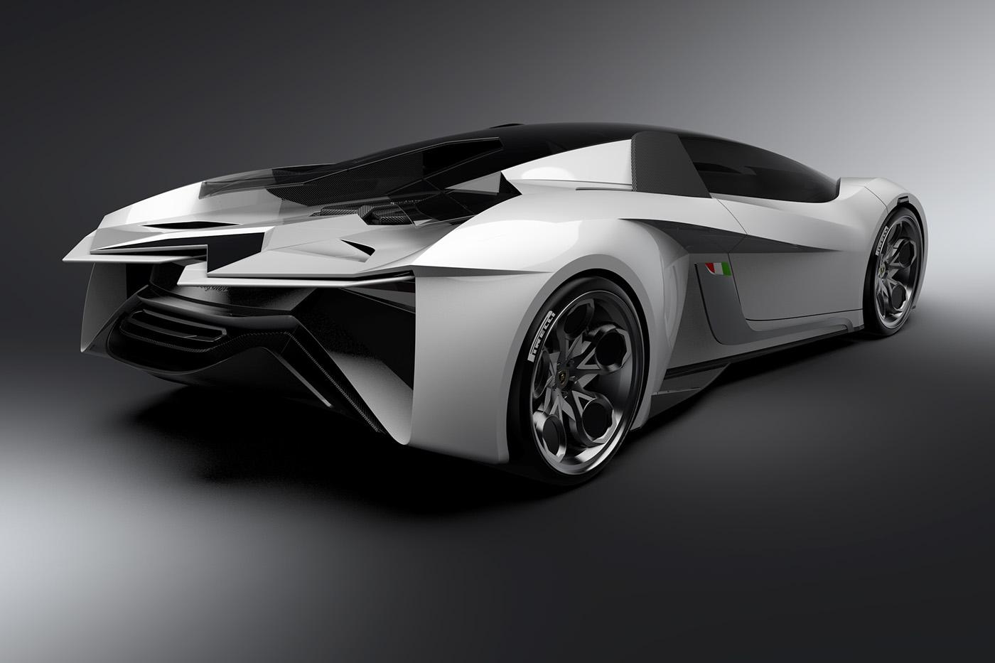 Compressed Natural Gas Lamborghini
