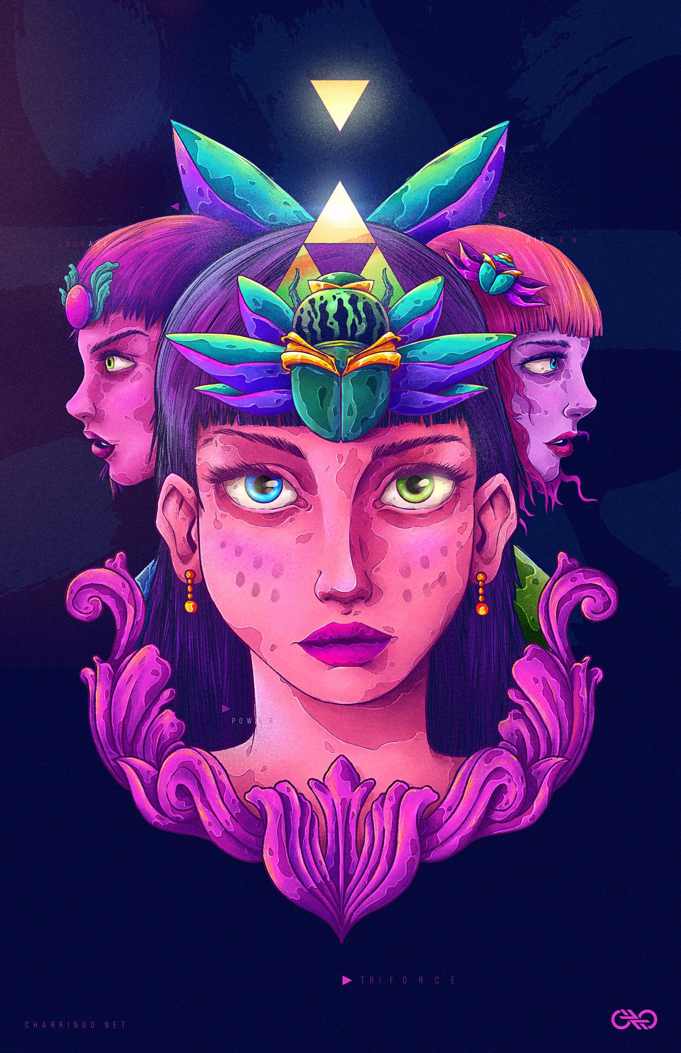 Triforce by Charringo