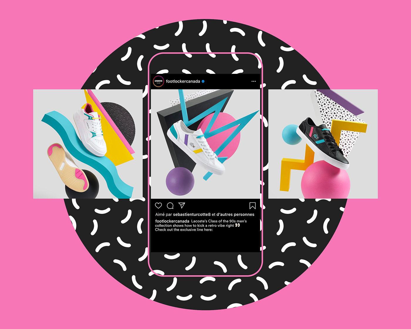 Photography  90s footlocker Retail Socialmedia