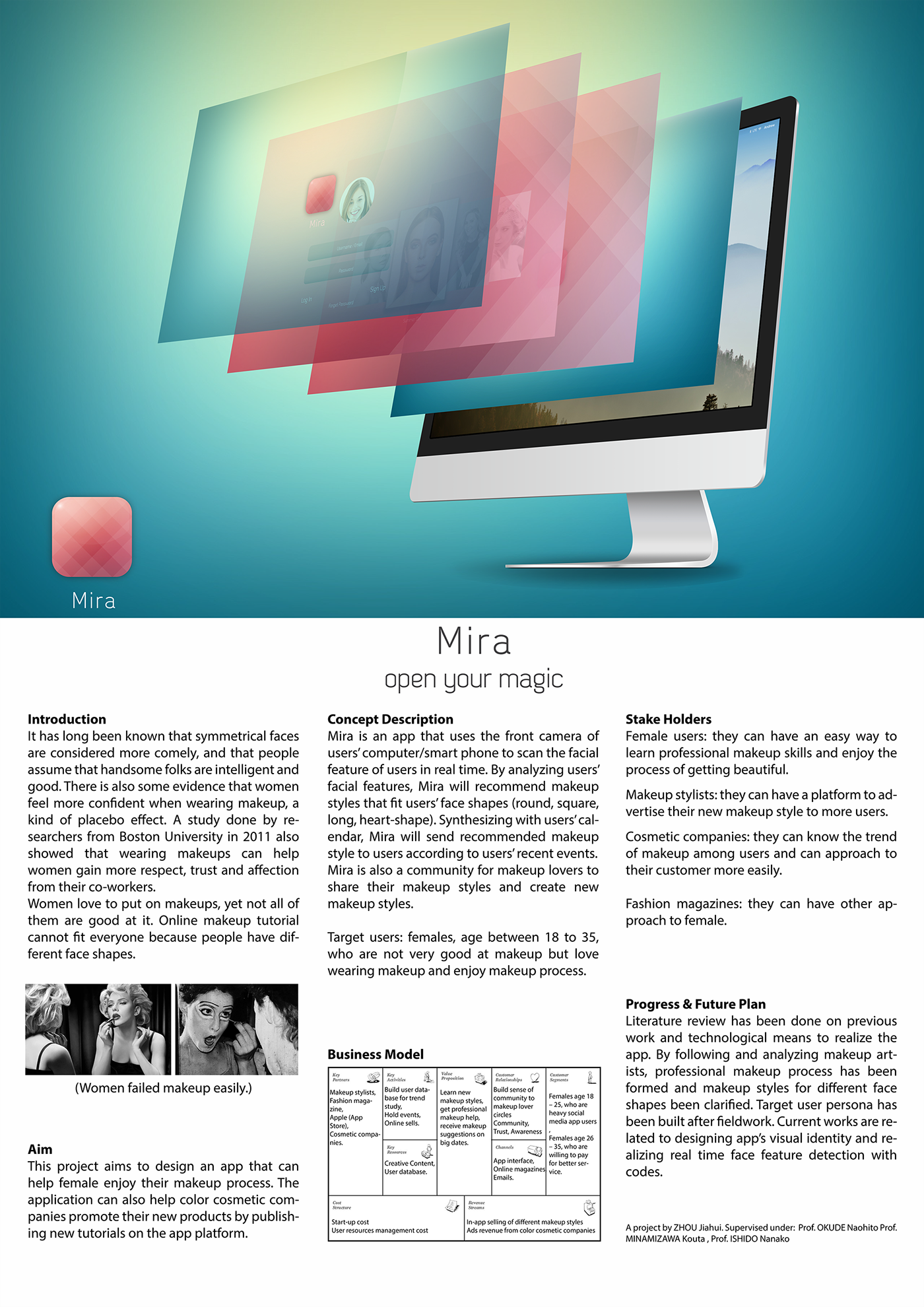 Mira - App Design for Cosmetics on Behance