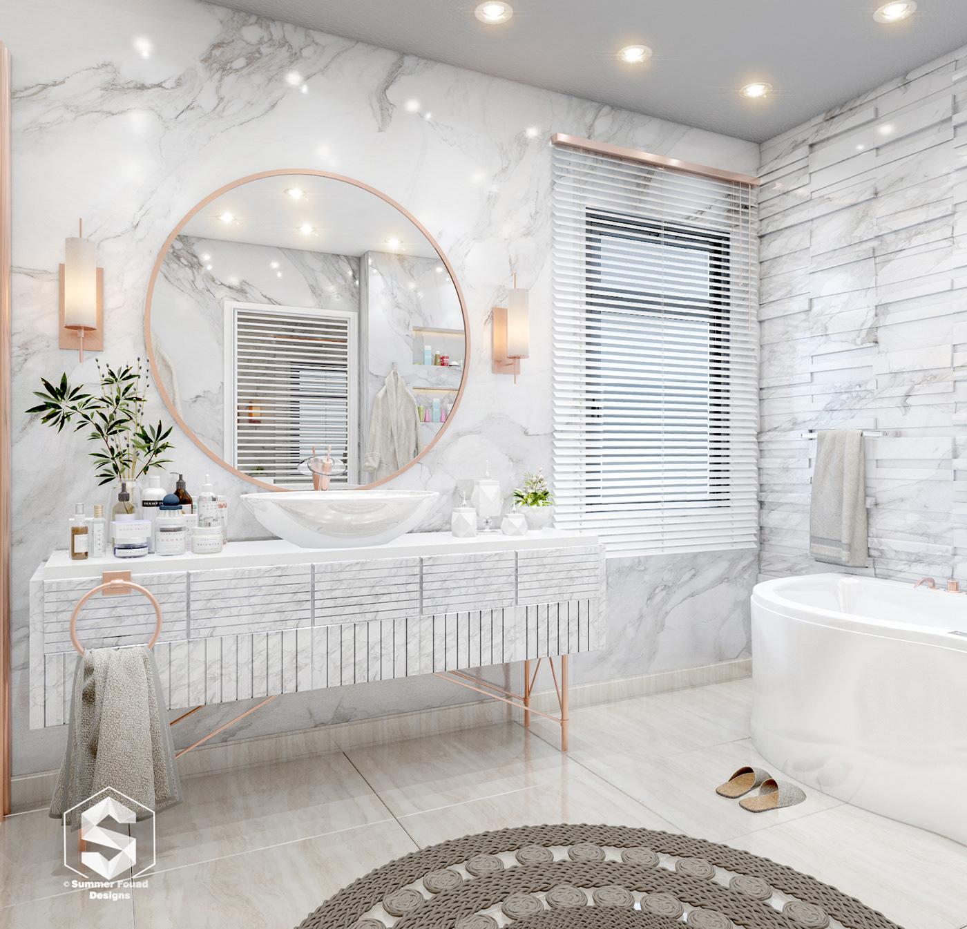 有獨特感的18款豪宅浴室欣賞
