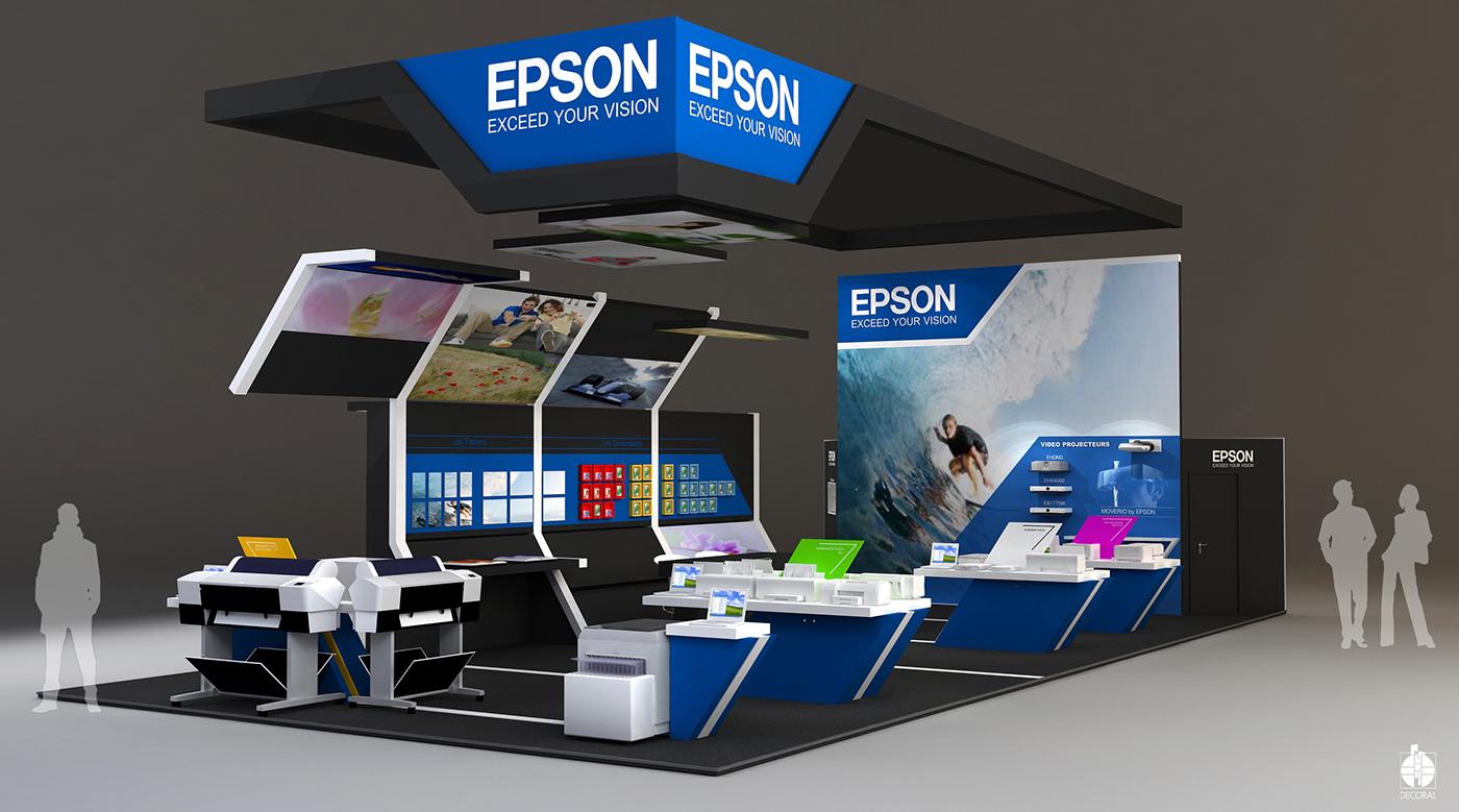 Stand epson salon de la photo paris 2013 on behance for Salon de paris