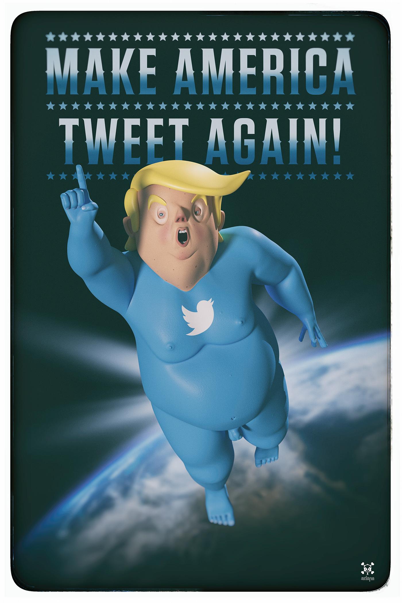 Make America Tweet Again! on Behance