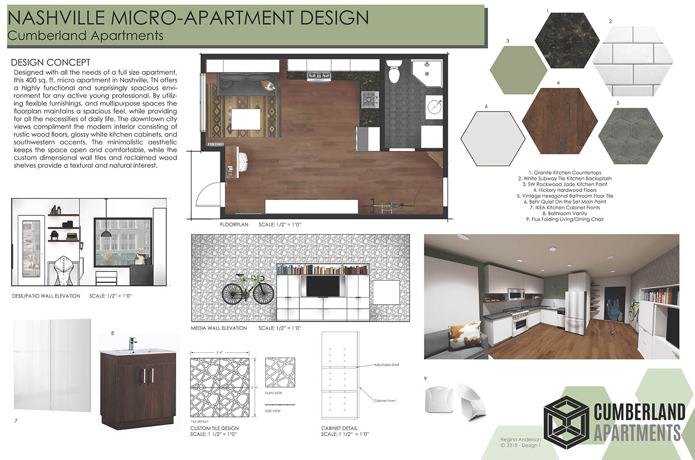 Micro-Apartment Design on Behance