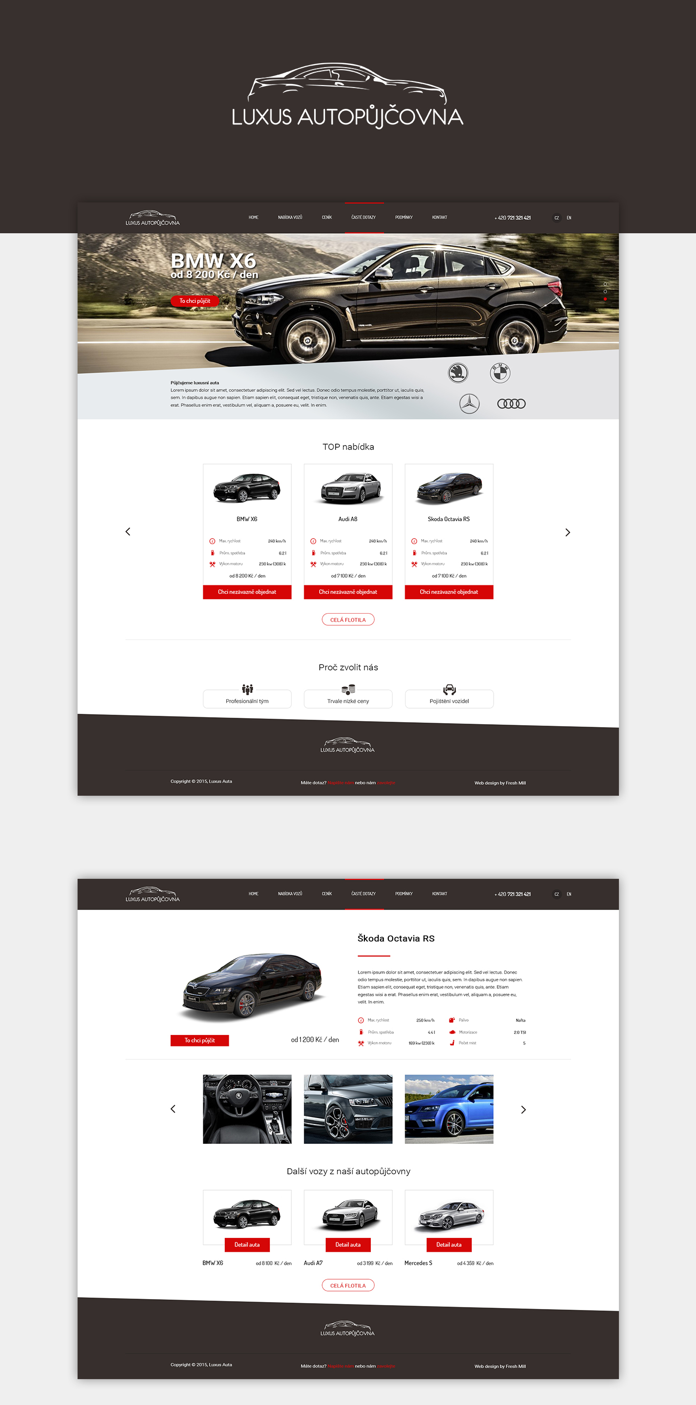 rental car automotive   luxury modern Booking Website clean