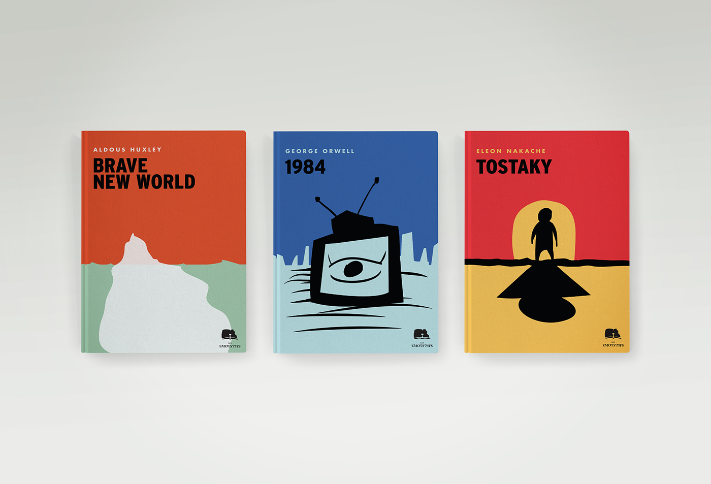 Minimalist Book Covers Classic : Minimalist book covers on behance