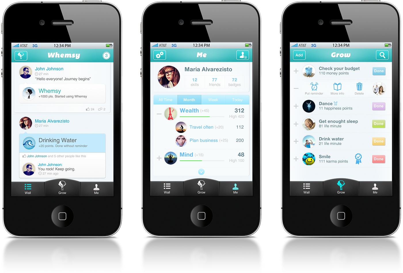 Life Improvement Iphone App On Behance