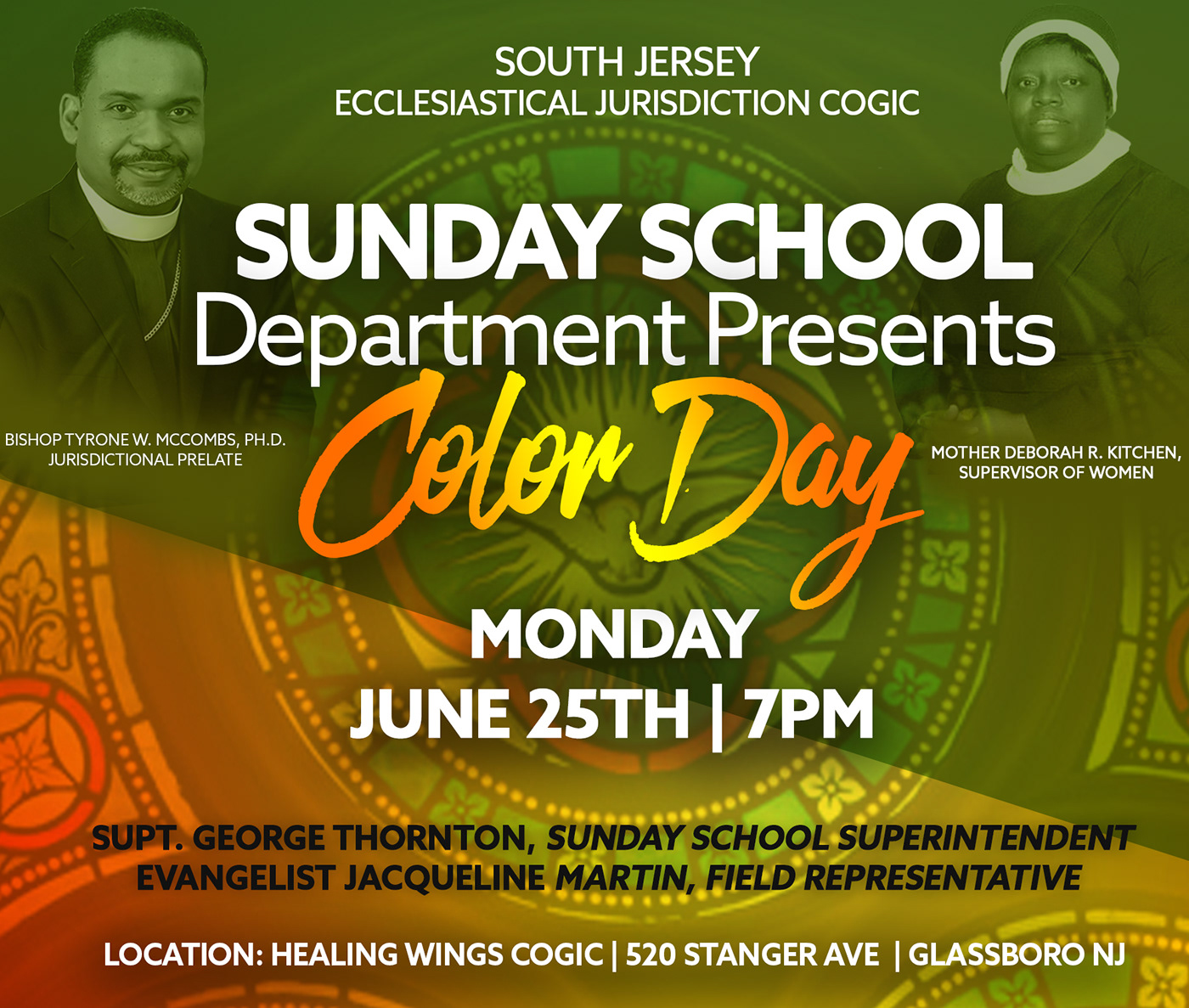 COGIC Events - South Jersey on Behance
