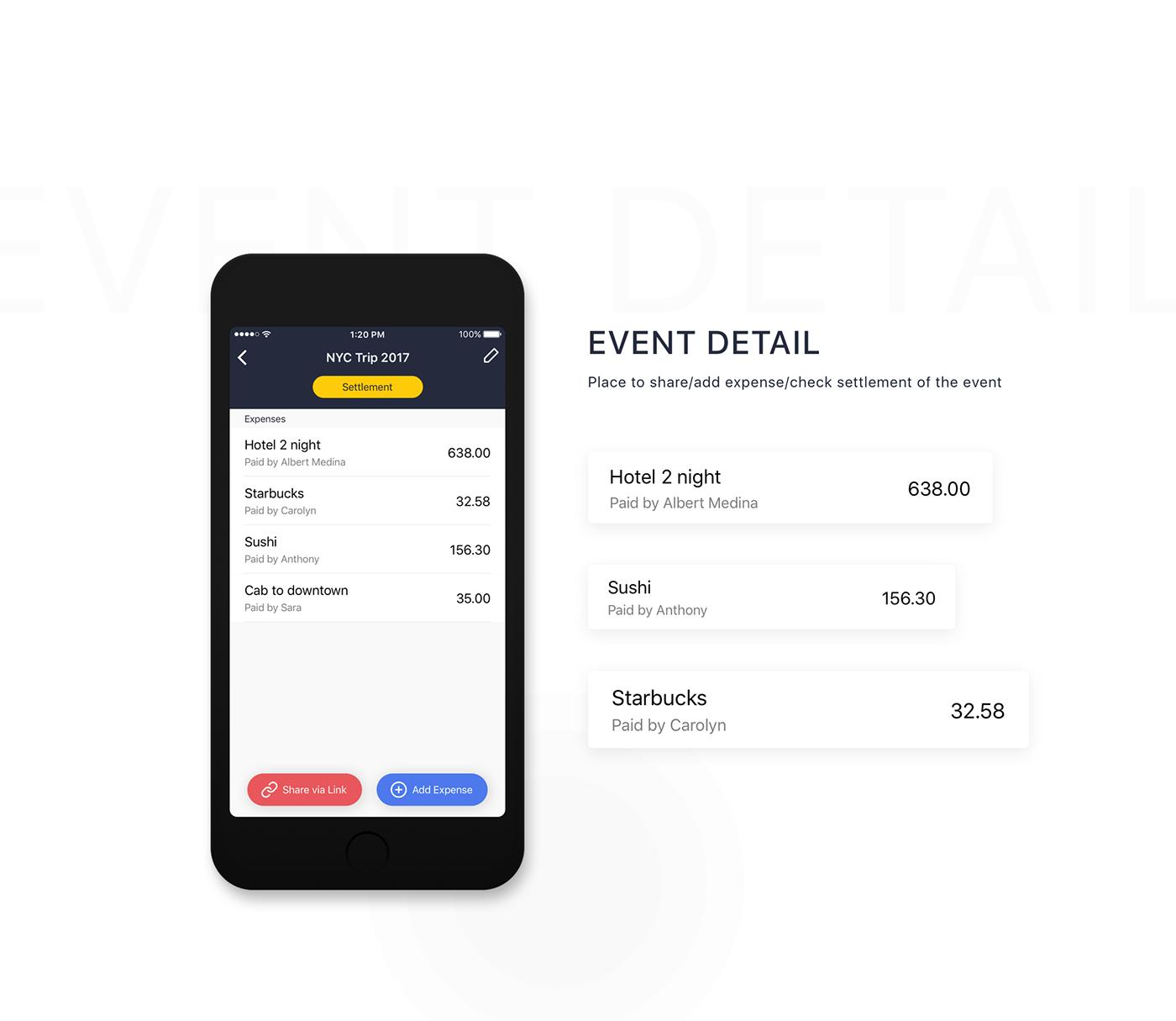 UI ux redesign finance money ios app clean Interface
