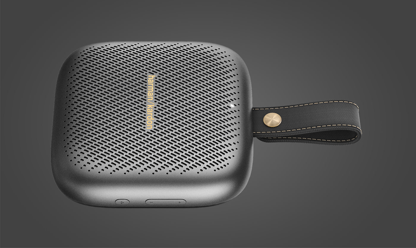 Audio bluetooth Harman Harman Kardon industrial design  music NEO portable premium speaker