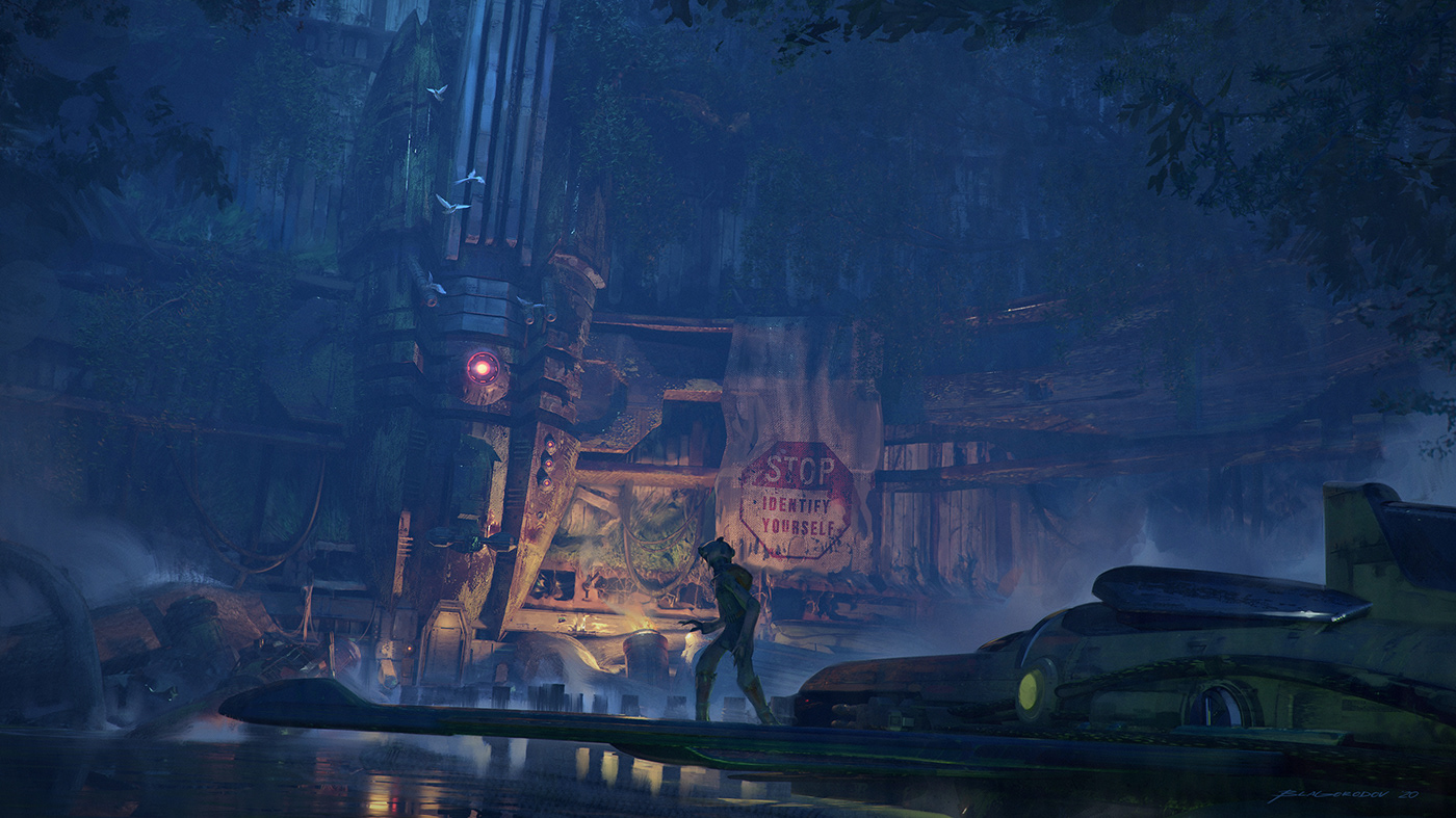 3dcoat abandoned blender3d checkpoint overgrown scifiart Starwars swamps thejourney Zbrush