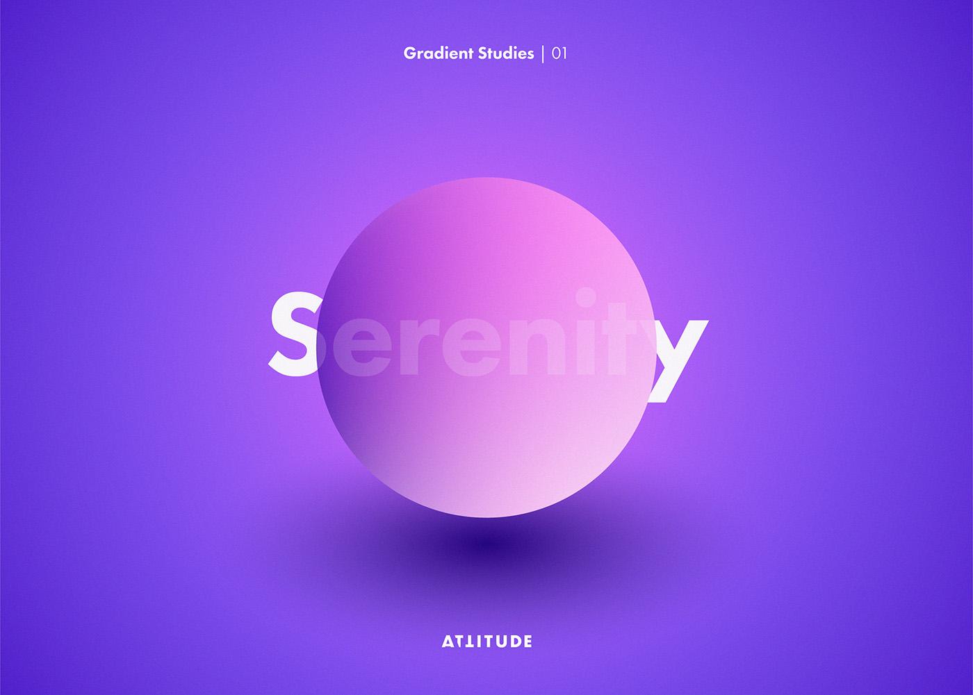 gradients vector abstract geometry color Minimalism experiment digital skillshare tutorial