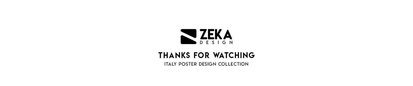 Poster Design Italy milan graphic design  Digital Collage Rome print design  minimal Venice zeka design