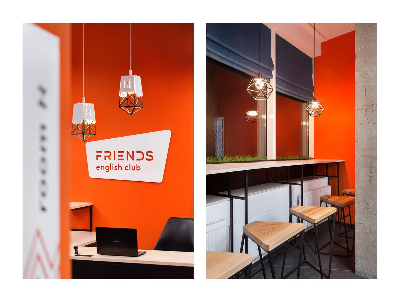 TheGoort Interior design commercial design English Club school
