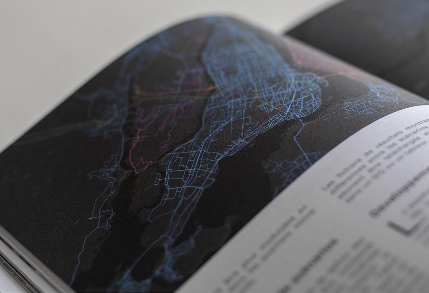Transport infrastructures architecture magazine Montreal Quebec trasportation asymptote maps roads
