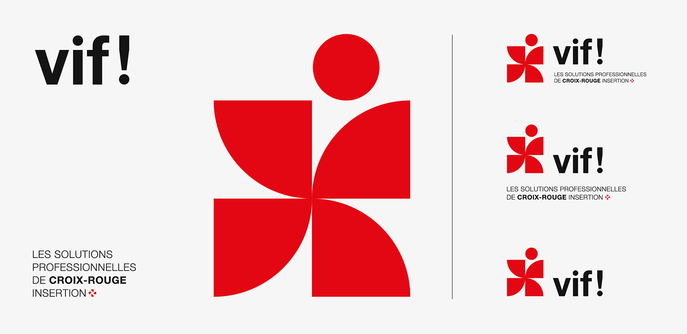 croix-rouge cross logo modernism NGO non-profit ong red red-cross