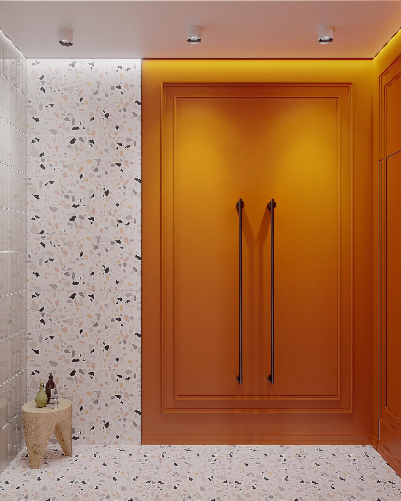 Image may contain: indoor, door and art