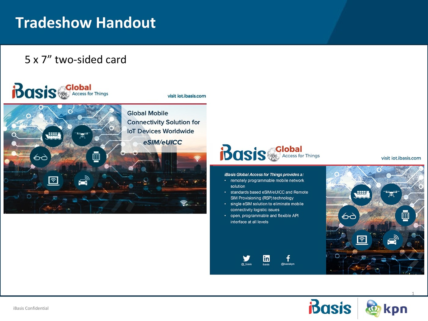 handout leaflet flyer tradeshow solutions
