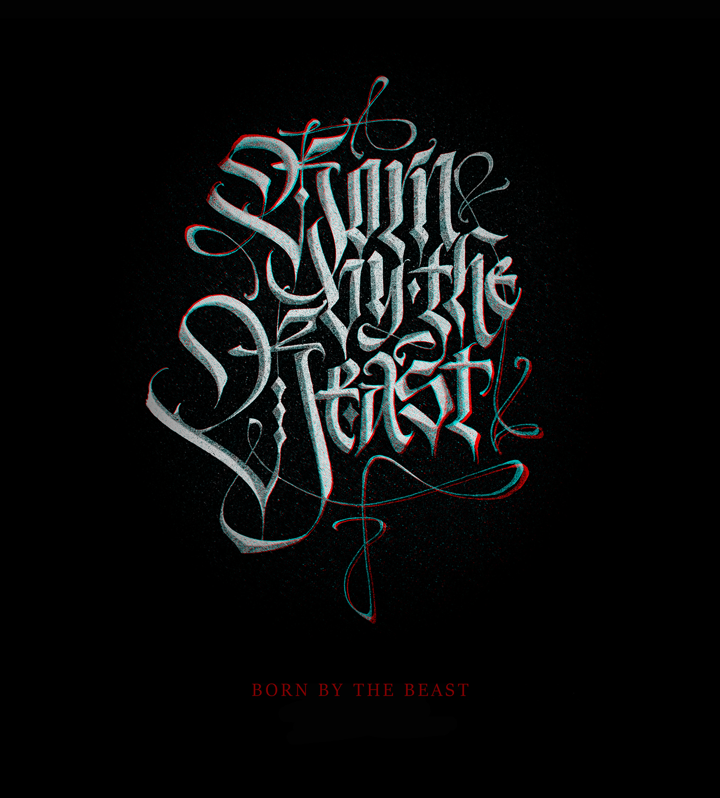 SORCERY LETTERS Modern Gothic Calligraphy Vol3 On Behance