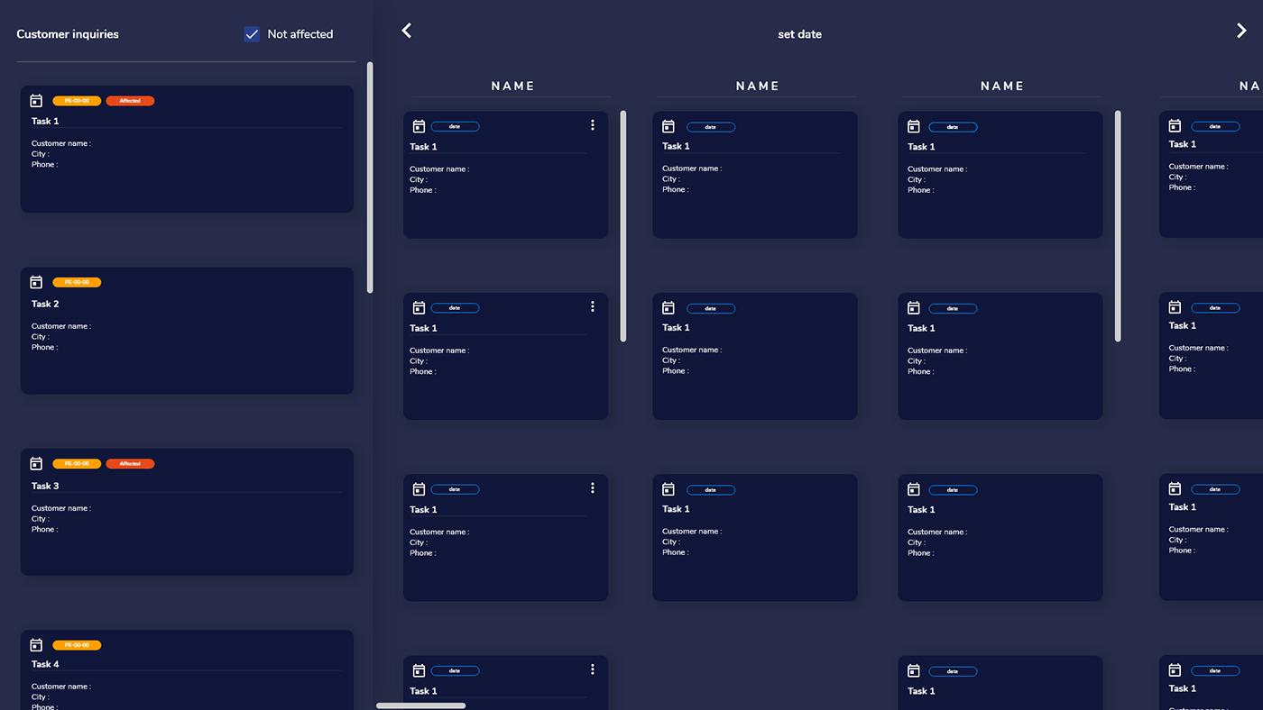 adobexd CMMS design dev frontend UI UI UX design ux Web Design  Website