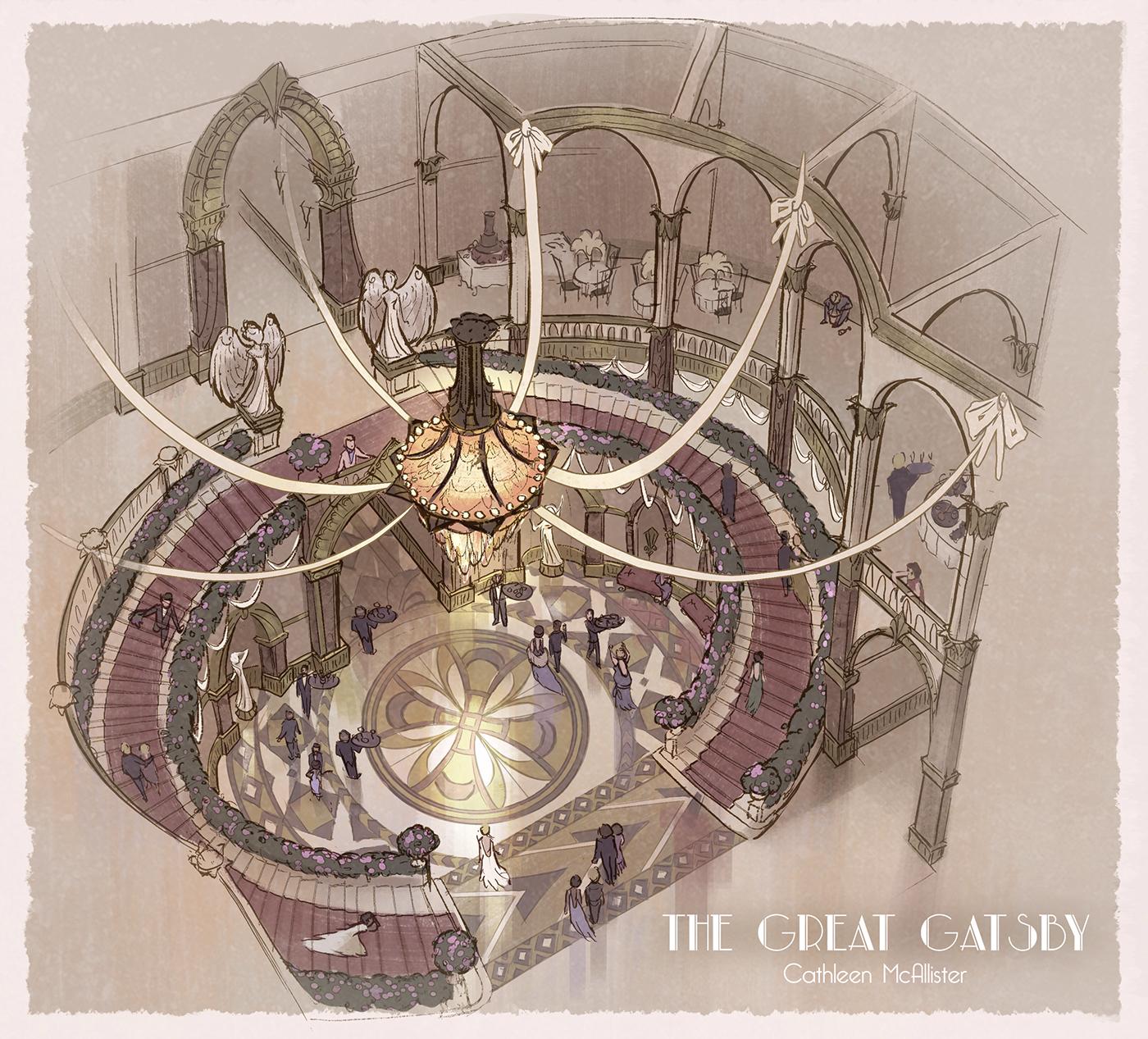 高質量的19套室內設計手繪欣賞