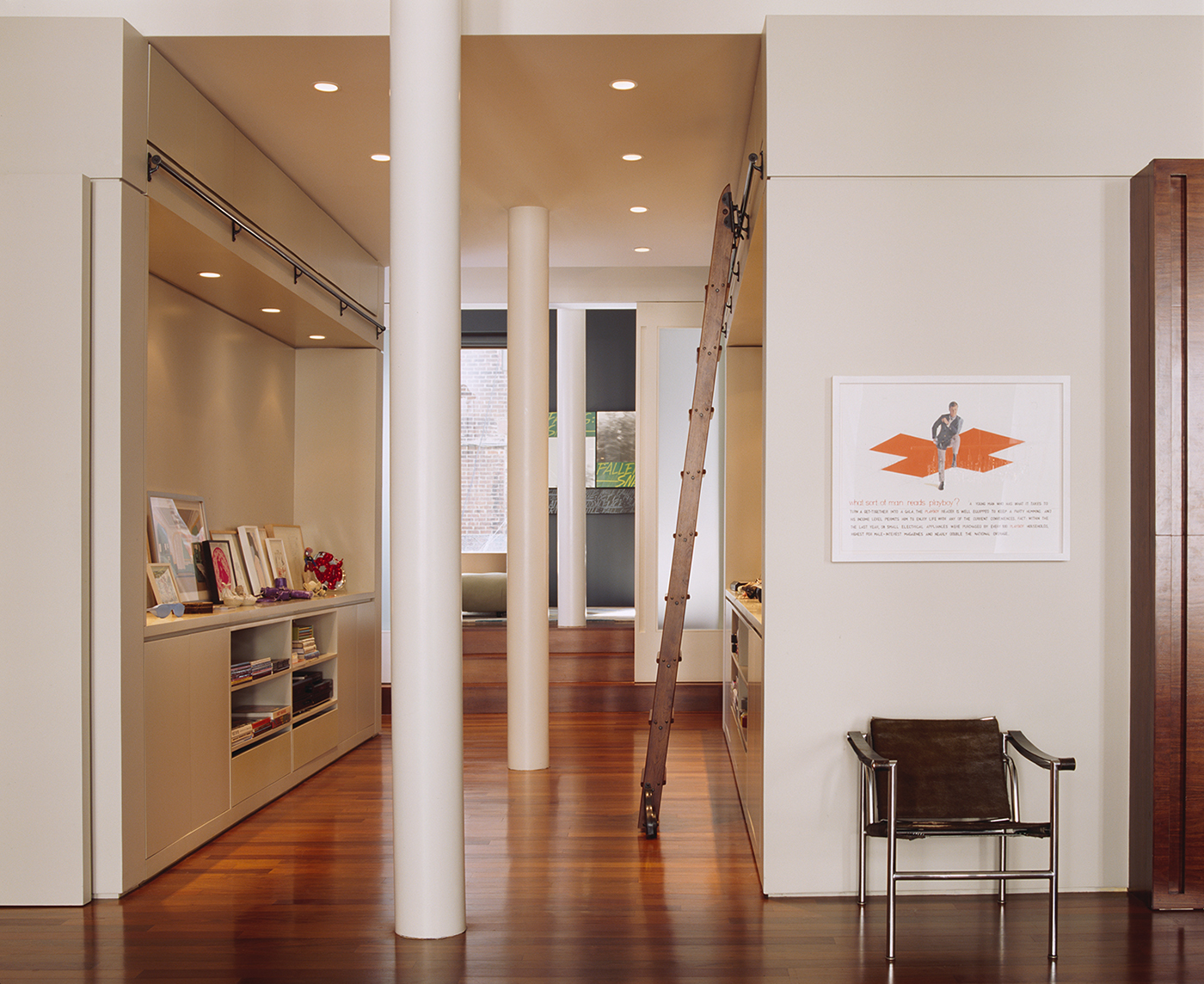 tribeca,LOFT,apartment,residential,Residence,Natural Light,midcentury,MID-CENTURY,contemporary art,Art Display,Art collection,Gallery Wall,New York,architectural,Custom