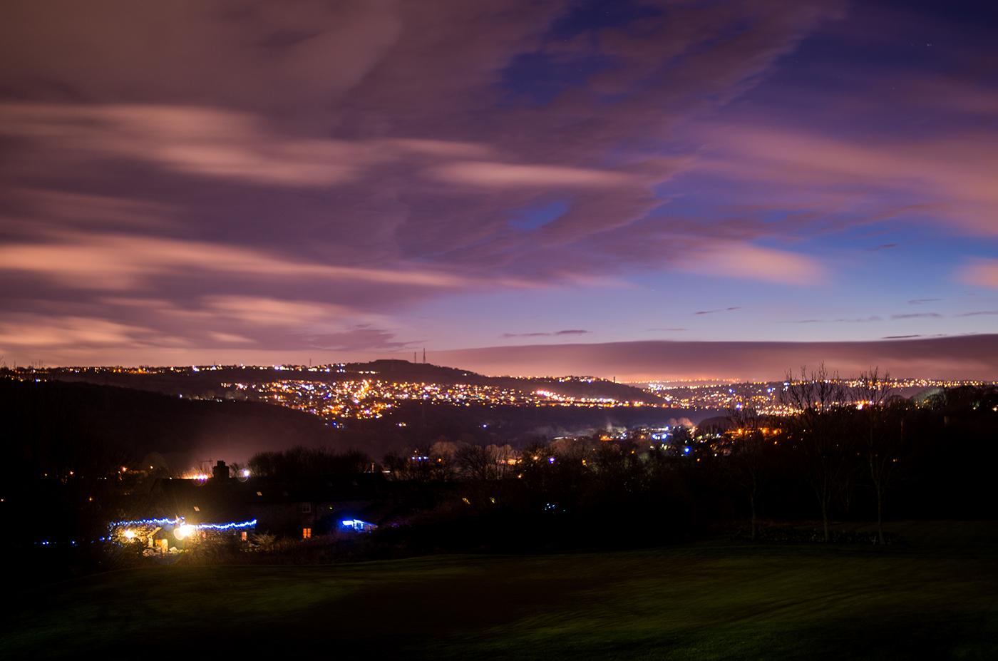 Night Across The Valley