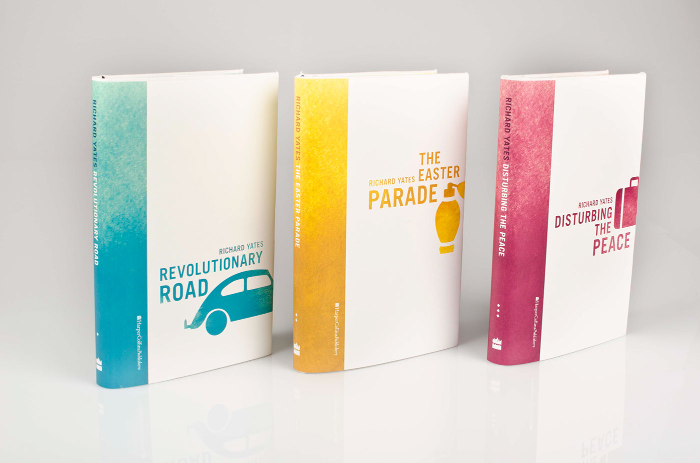Book Cover Series Questions ~ Book series richard yates on behance