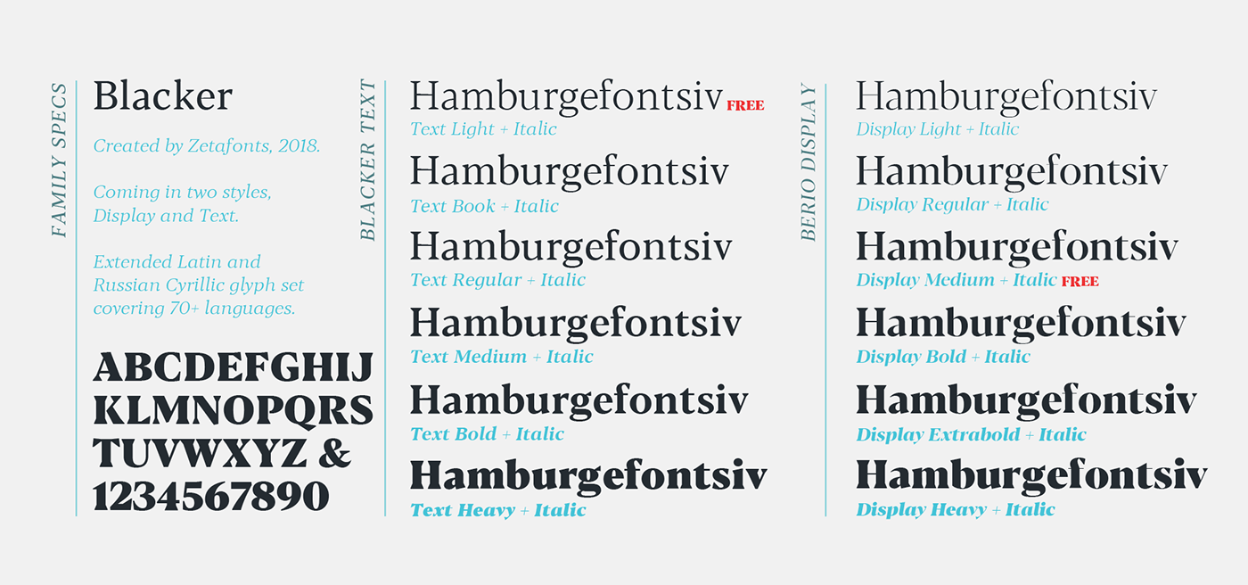 Free font free type free serif Cyrillic elegant
