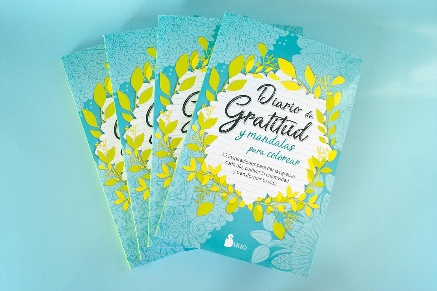 colorido creatividad cubiertas diseño diseñoeditorial diseñografico editorial gratitud tripas turquesa