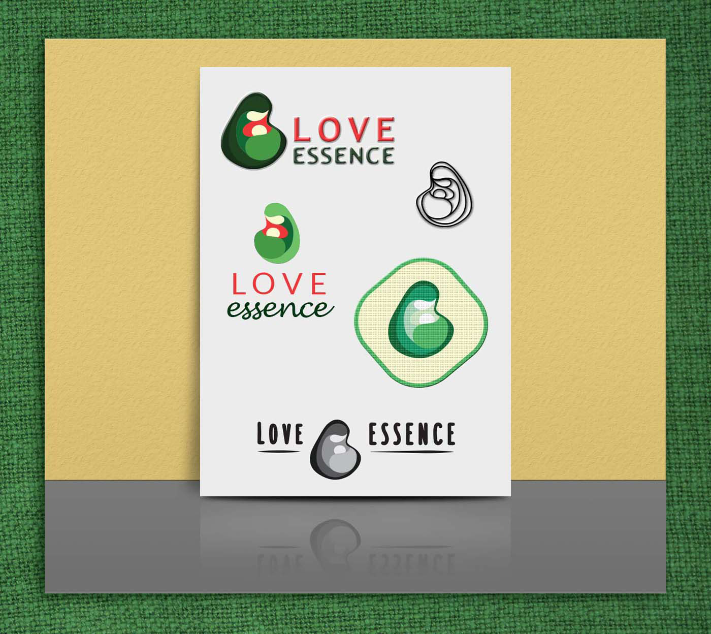mother Icon logo brand cloth Wrap carrier motherhood Love essence Proximity tenderness parenthood eco Nature