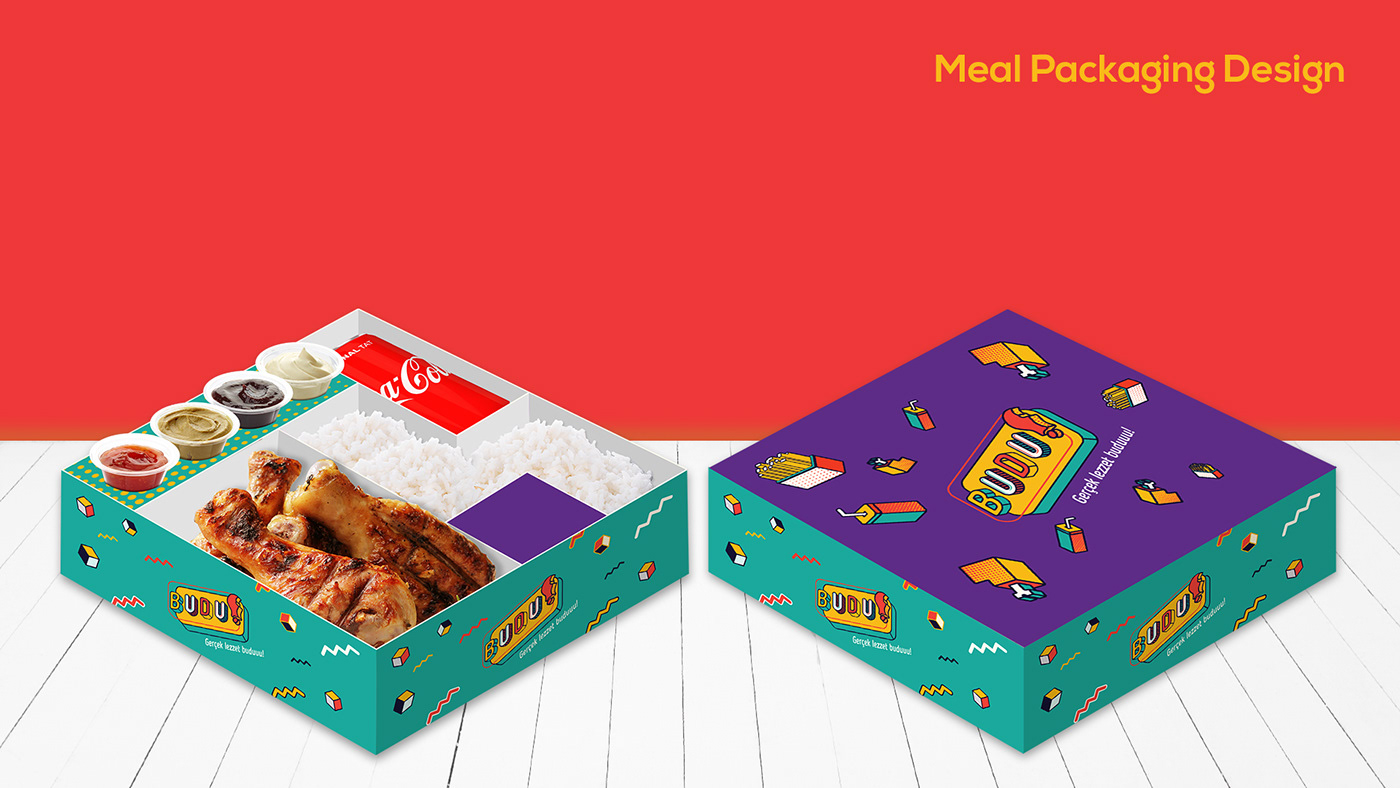 Restaurant Branding,Fast food,chicken brand,Budu,food branding,food court