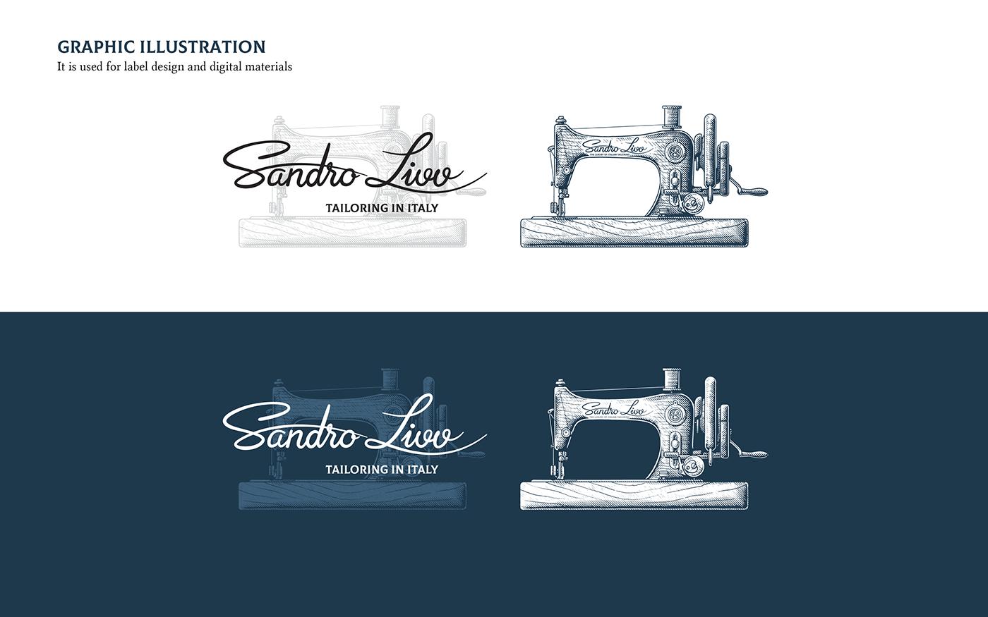 logo brandbook brand Patterns tailorbrand stationary