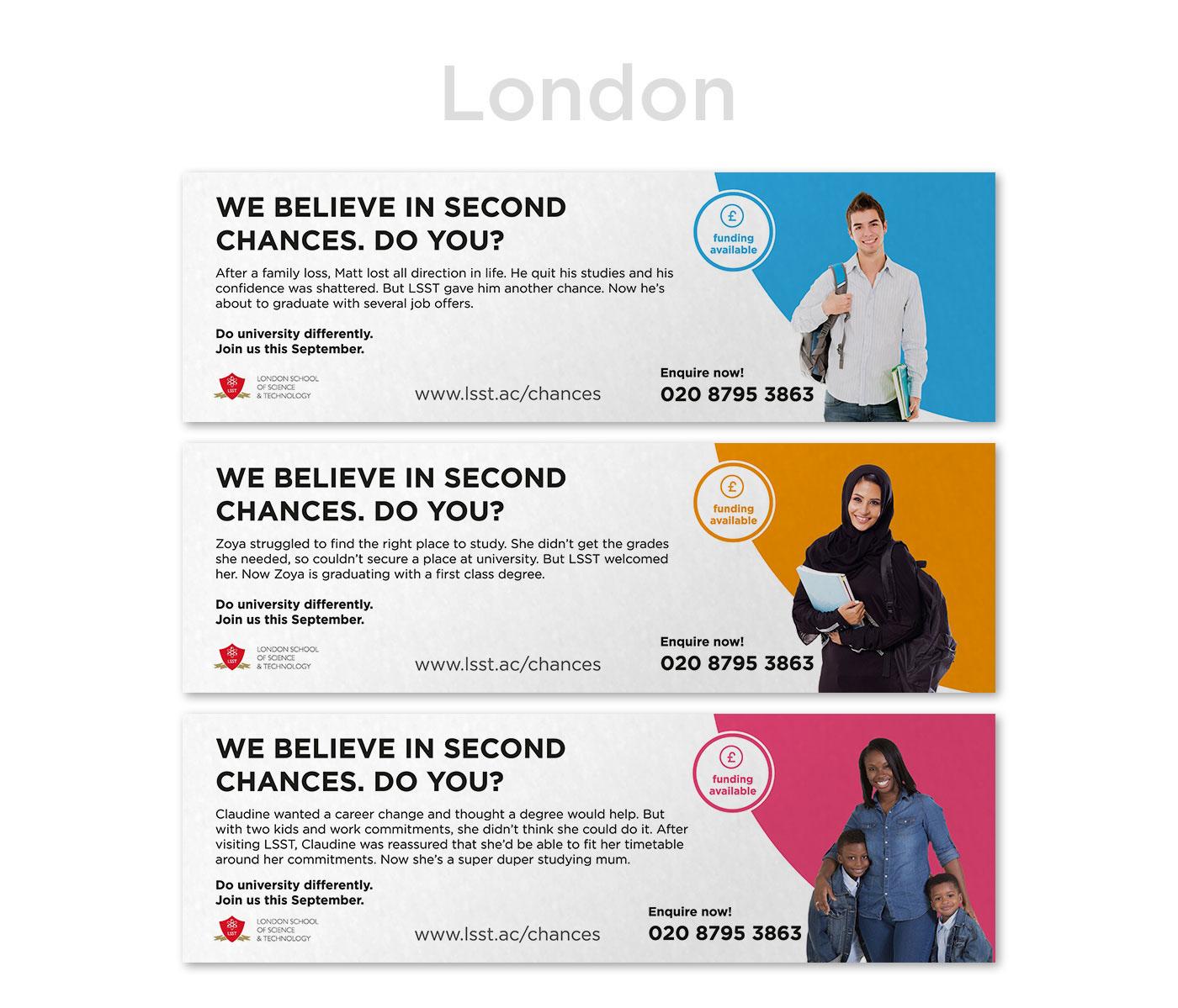 campaign recruitment college University advert marketing