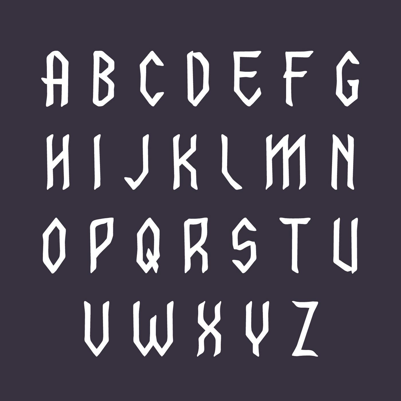 Fraktur free Free font free fonts freebies hand drawn rough traditional viking vintage